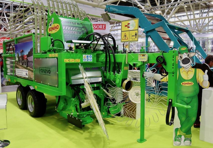 Bonino: carri falcia autocaricanti e macchine per la raccolta di erbe aromatiche