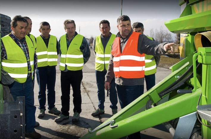 Emak e Merlo insieme per la formazione  e la sicurezza dei professionisti del verde