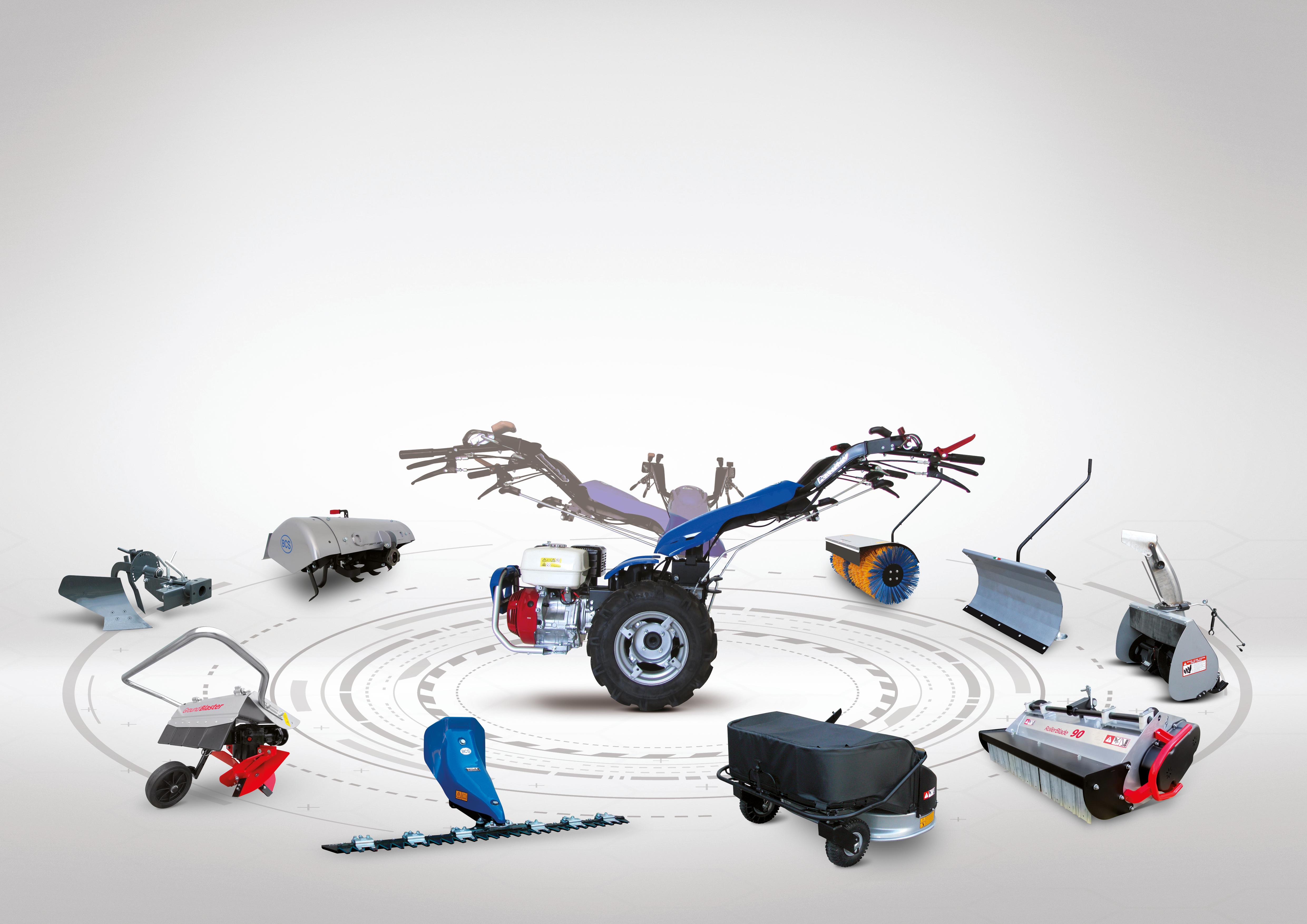 Bcs: motocoltivatore idrostatico 770 HY PowerSafe®