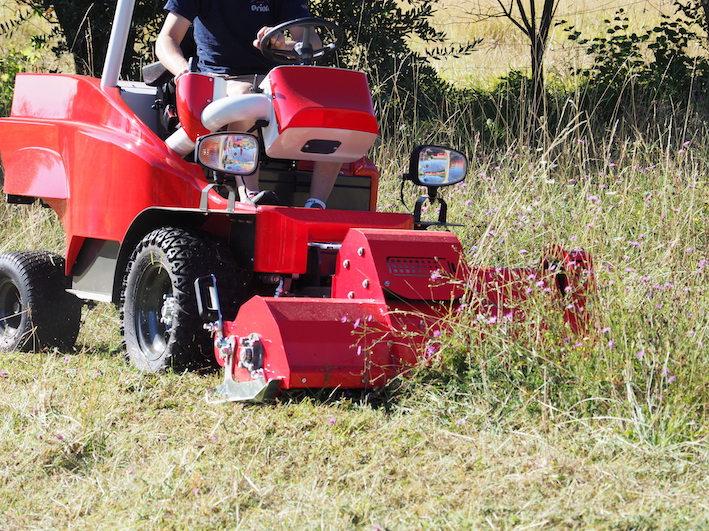 """Rino, il trattorino elettrico """"made in Tuscany"""""""