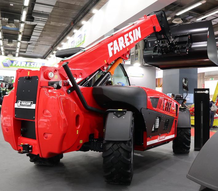 Faresin Industries: l'evoluzione dei Leader PF Plus e l'arrivo del telescopico Full Electric