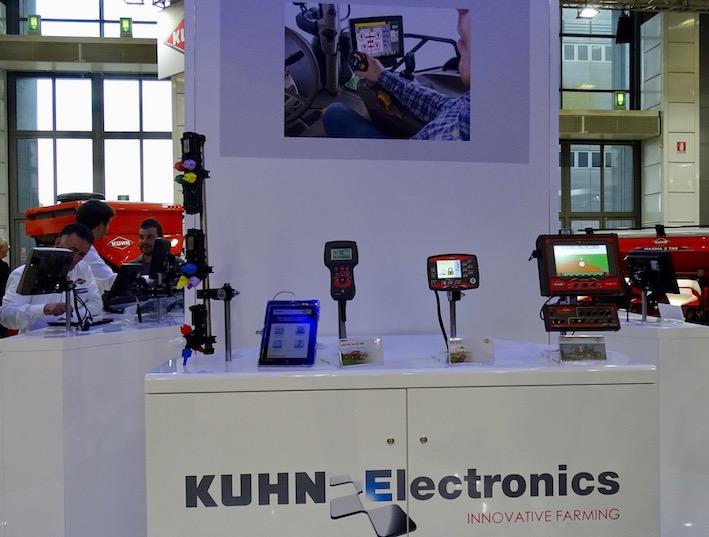 Kuhn: a Eima 2018 nel segno dell'elettronica