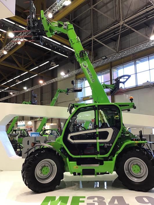Merlo: nuova gamma Turbofarmer ad alta capacità e le altre novità presentate all'Eima