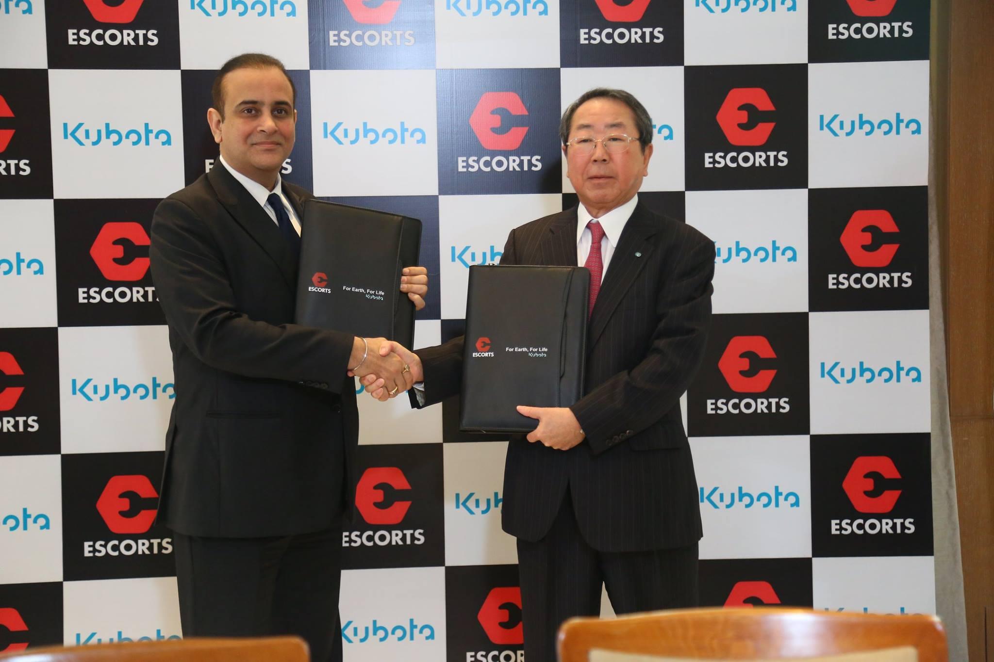 Kubota e Escorts: una joint-venture che punta in alto