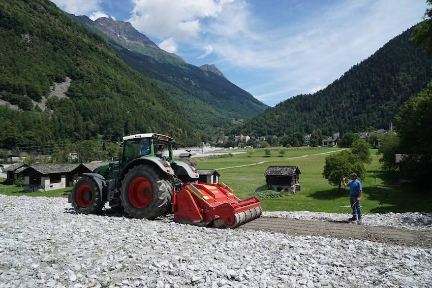 """Seppi M.: Supersoil, """"regina"""" nei lavori di bonifica a Bondo (Canton Grigioni)"""
