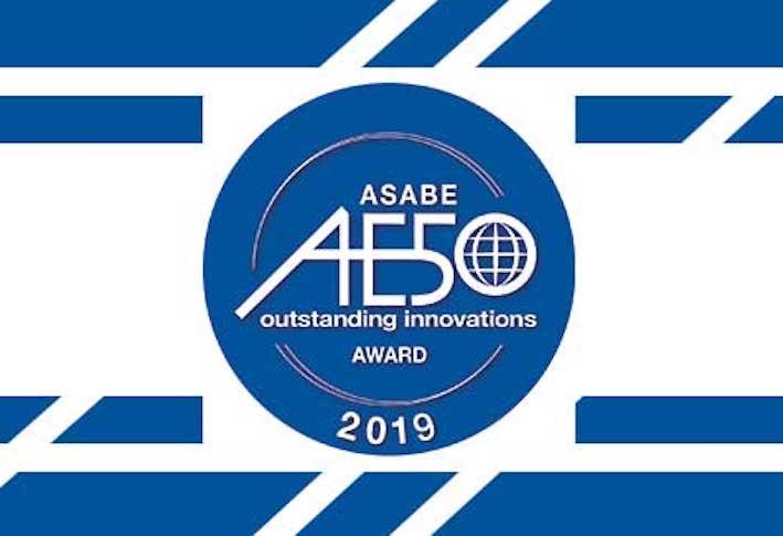 Cinquina di Case IH e New Holland all'edizione 2019 del Premio di Asabe alle 50 migliori innovazioni