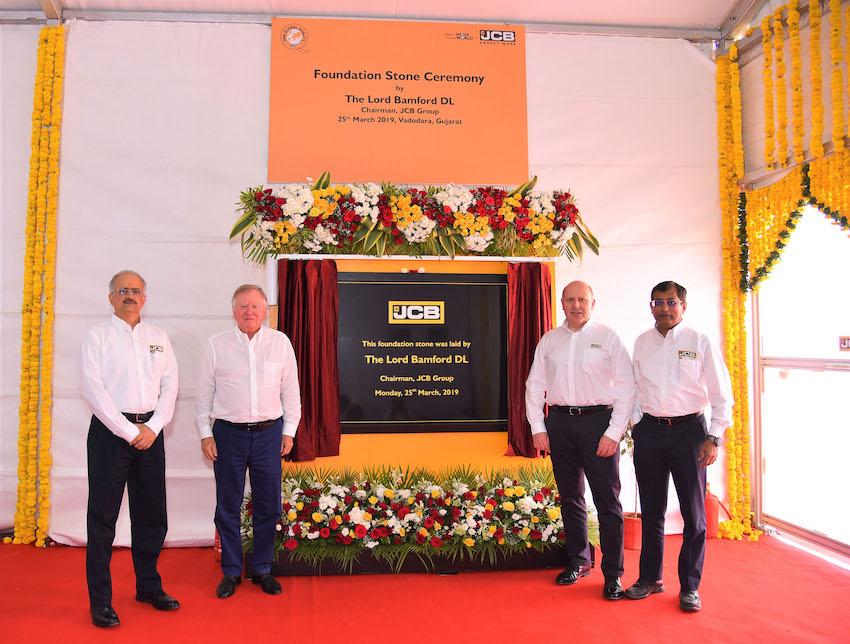 JCB: una nuova fabbrica in India