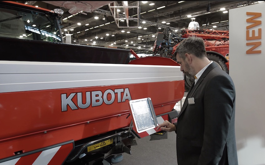 Kubota: numerose novità in mostra al Sima 2019