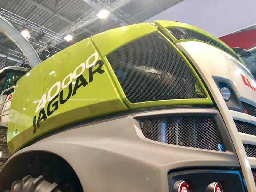 Claas: Jaguar Terra Trac e  telematica protagoniste al Sima 2019