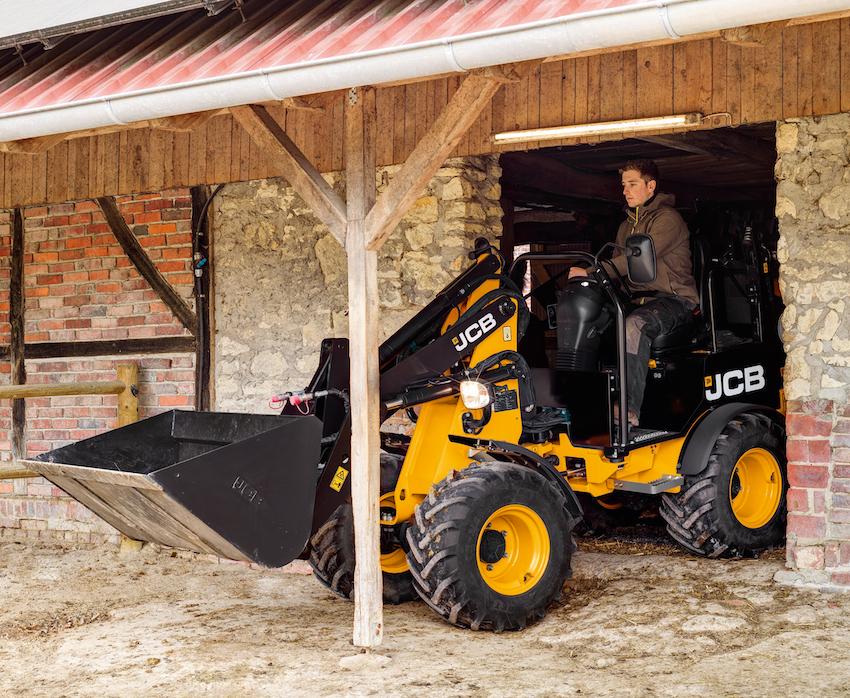 JCB: l'upgrade della pala compatta 403 Agri
