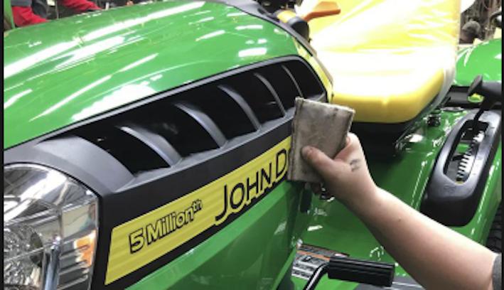 Cinque milioni di trattorini per John Deere Power Products