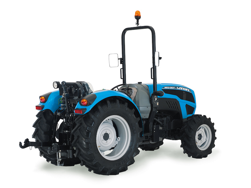 "Landini Rex3 F: i ""jolly"" vestiti di azzurro"