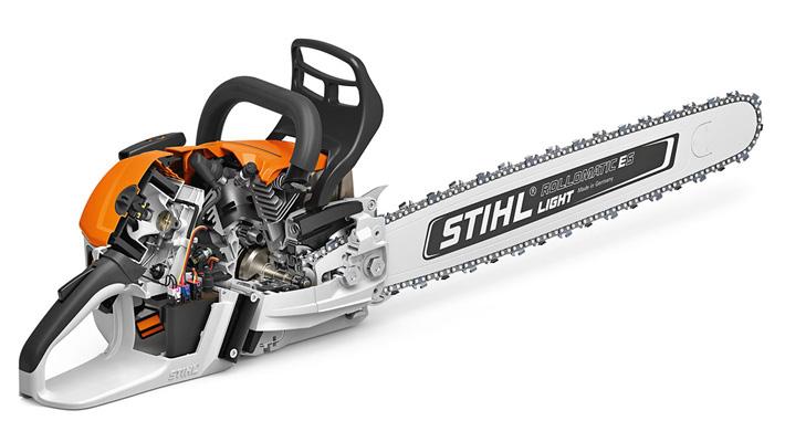 Stihl MS500i, la motosega con iniezione elettronica