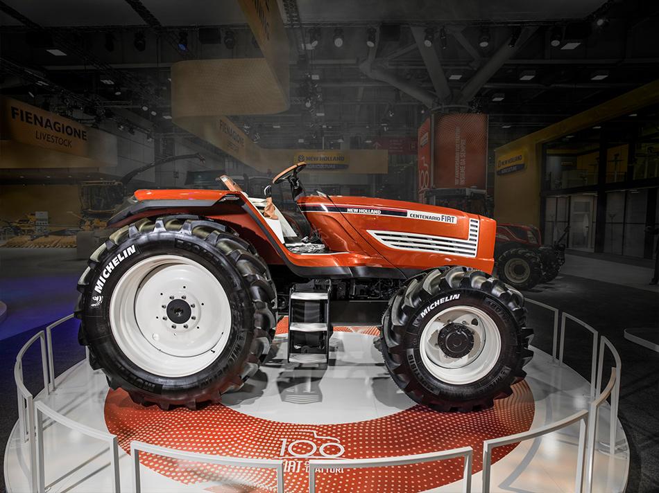 New Holland: al via il Roadshow per il Centenario di Fiat Trattori