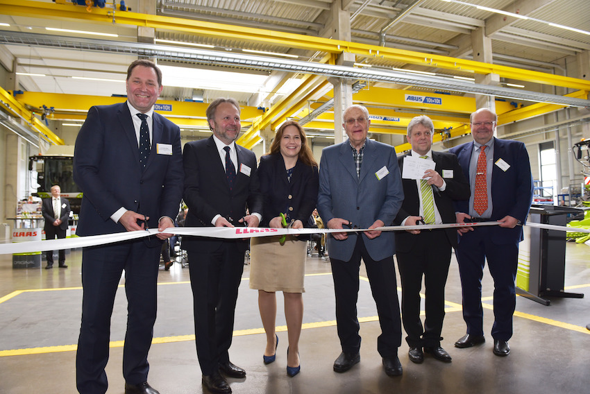 Claas: inaugurato il nuovo Centro di collaudo