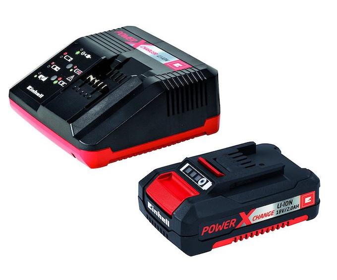 Einhell: batteria intercambiabile per il tagliasiepi GE-CH 1855/1 Li-Solo