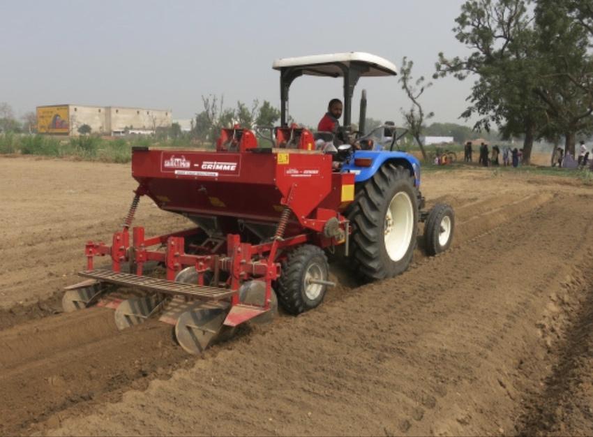 Grimme: joint venture con l'indiana Shaktiman