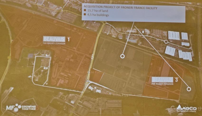 Massey Ferguson: Beauvais, pilastro di una crescita inarrestabile