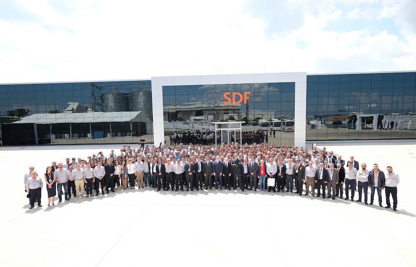 SDF: inaugurate le nuove linee produttive in Turchia