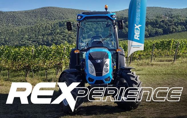 REXperience: il Landini Rex protagonista di un tour mondiale