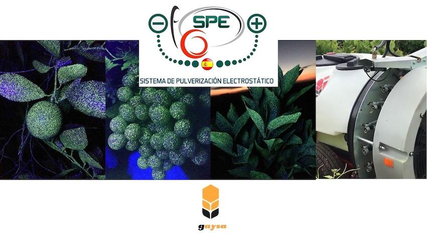 """Battini Agri: atomizzatore Gaysa con sistema """"SPE elettrostatico"""", per trattamenti sempre """"a bersaglio"""""""