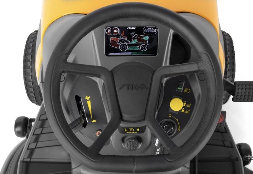 Stiga: trattorino tagliaerba Tornado Pro 9118 XWS, potente e versatile