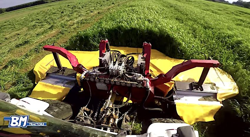 BM Tractors: Better 180, il porta attrezzi ideale per la fienagione