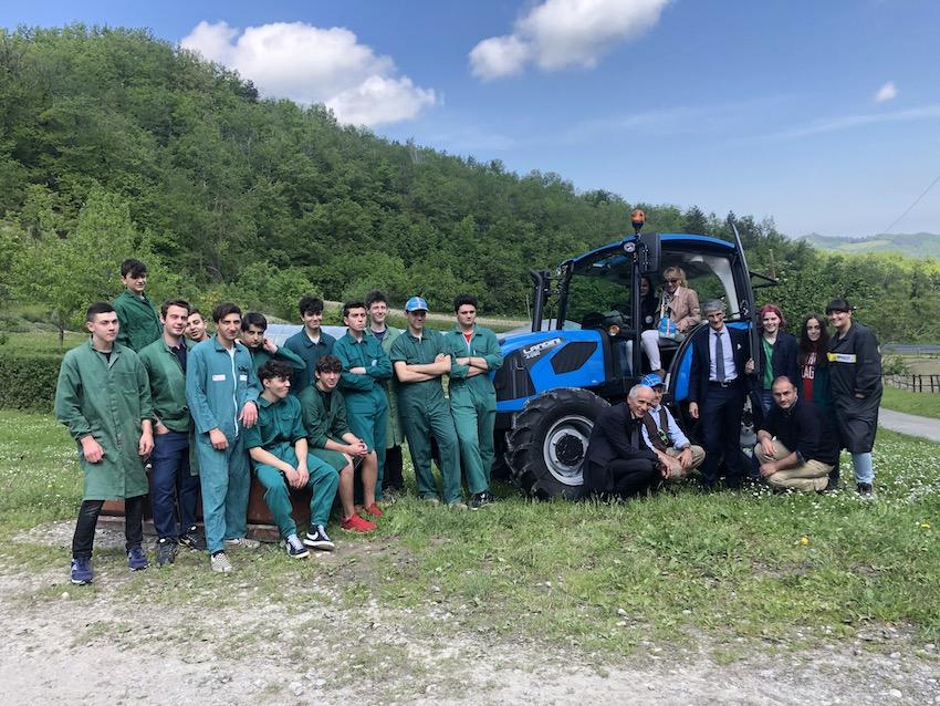 Argo Tractors: un trattore Landini Serie 4-090 per l'Istituto superiore Nelson Mandela