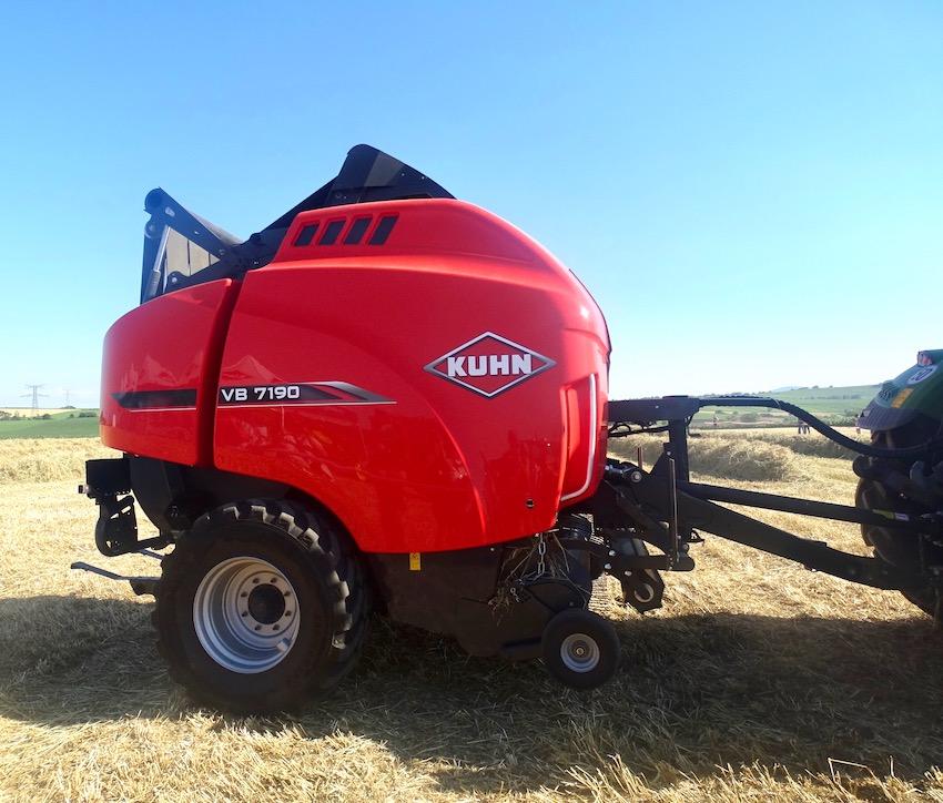 Kuhn: VB 7100, la serie di rotopresse al top per densità, capacità e durata utile