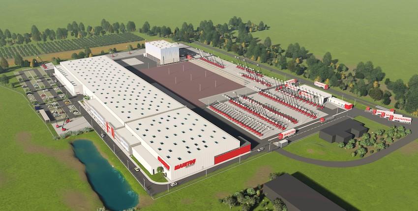 Manitou: al via la costruzione in Francia di una nuova fabbrica di piattaforme aeree