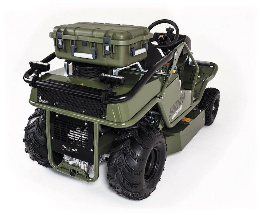AS-Motor: per i 60 anni un'edizione speciale del trattorino falciatutto AS 940 Sherpa 4WD