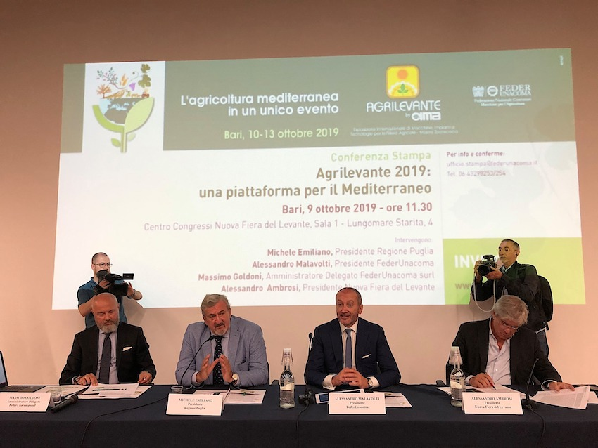 Macchine agricole: buone notizie per i costruttori italiani dall'area mediterranea