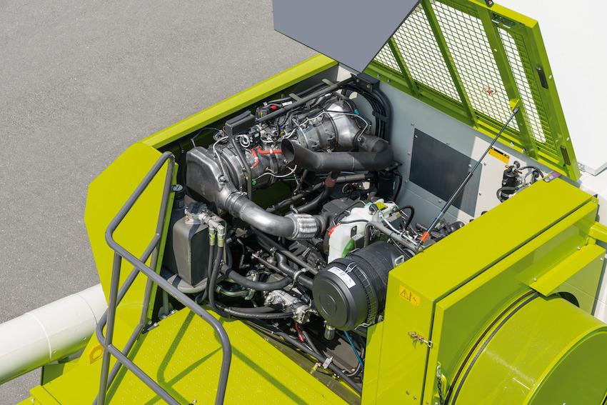 Cummins: motore B6.7 Stage V per le mietitrebbie Avero di Claas