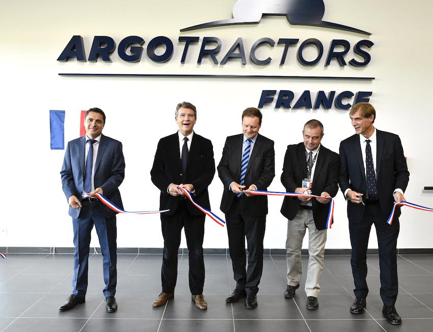 Argo Tractors: inaugurata la filiale francese