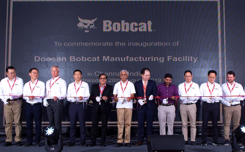 Bobcat sbarca in India e punta al terzo posto nel mercato delle terne