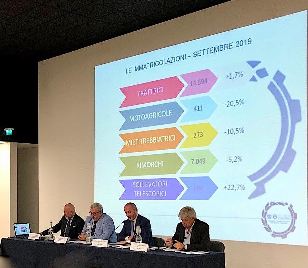 Macchine agricole: mercato Italia in sofferenza nel terzo trimestre