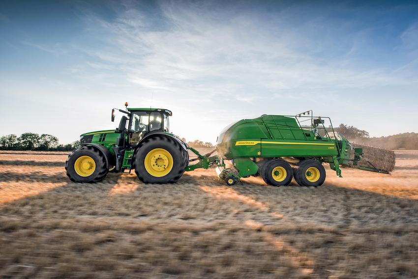 John Deere: nuove big baler serie L600, più produttive e sicure