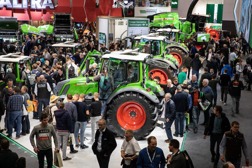 Agritechnica 2019: visitatori stabili a quota 450mila e presenze straniere in crescita