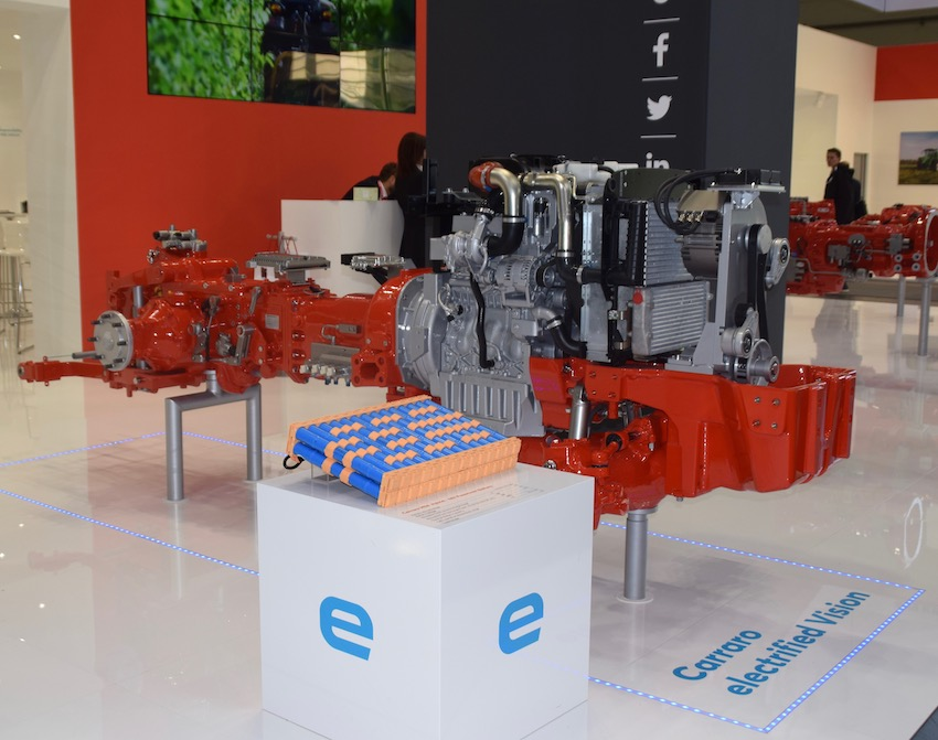 Carraro Group vince la sfida dell'elettrificazione