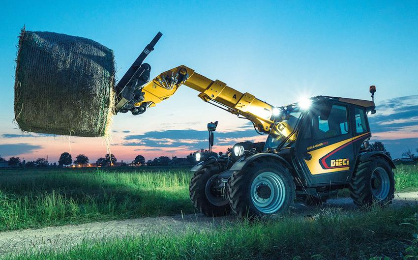 """Dieci: un'innovativa trasmissione per la """"concept machine"""" Agri Max 50.8 PowerX2"""