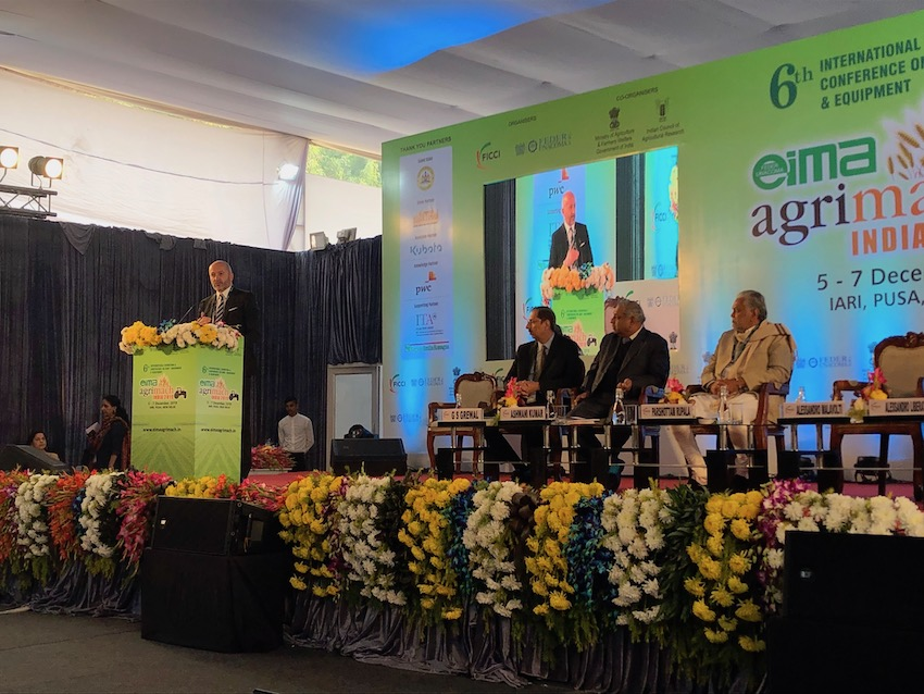 """India: la """"rivoluzione verde"""" fa da sfondo alla sesta edizione di Eima Agrimach"""