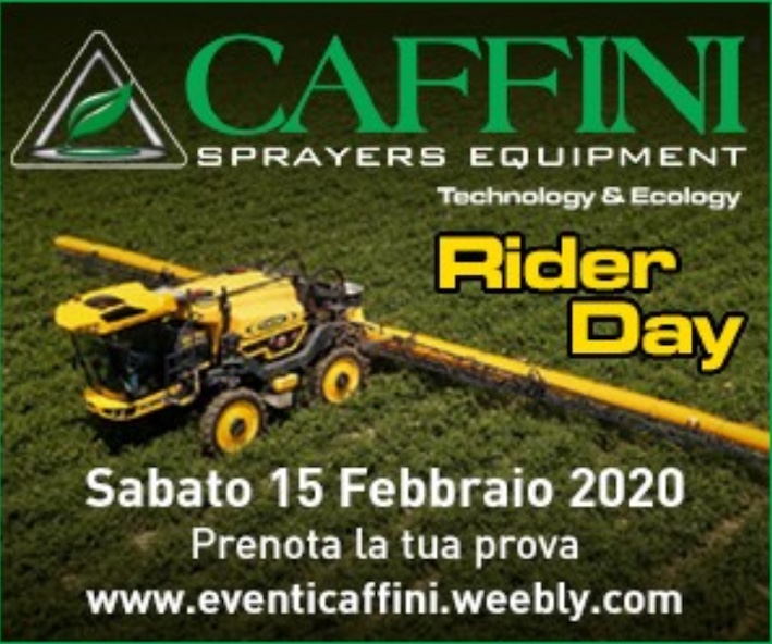 """Caffini: appuntamento a Palù (Verona) il 15 febbraio per il """"Rider Day"""""""