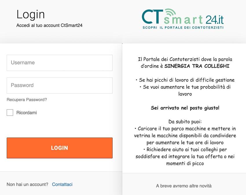 Contoterzisti: con CT Smart 24 proficue sinergie tra colleghi