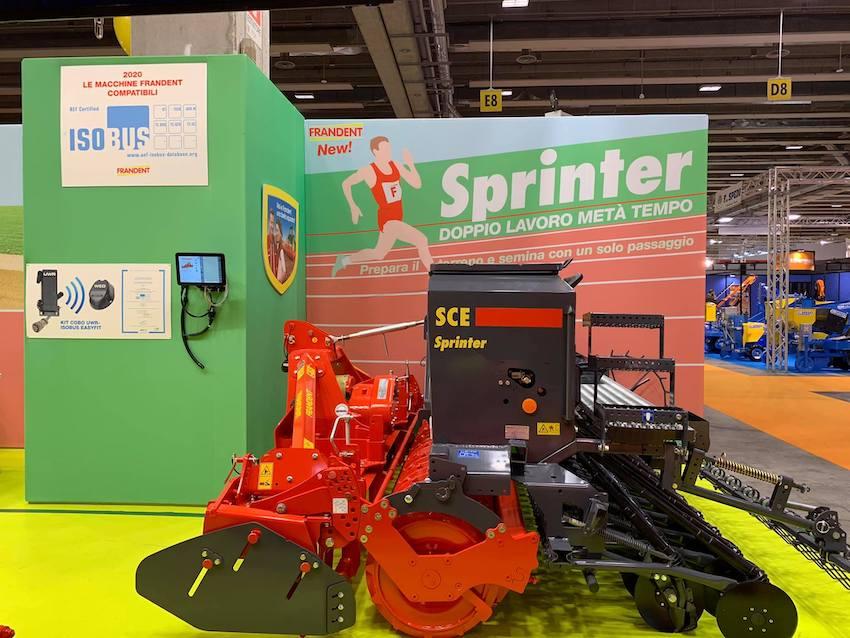 Frandent: nuova seminatrice integrata Sprinter, prepara il terreno e semina con un solo passaggio