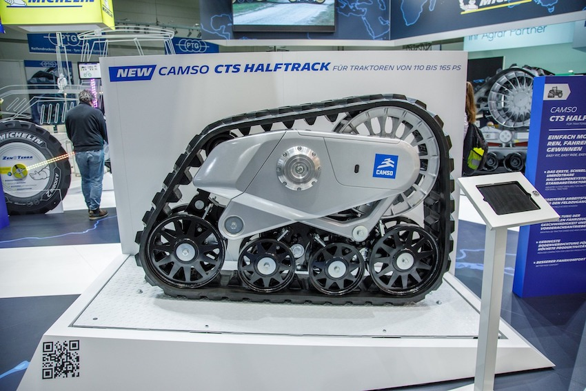 Camso CTS Halftrack: per convertire a semicingolato il trattore di media potenza