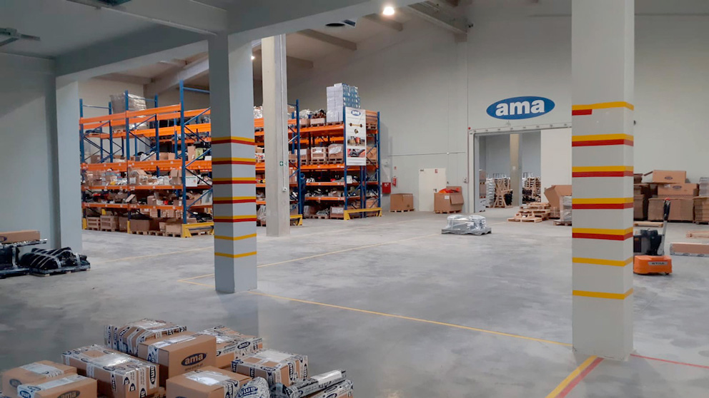 AMA: inaugurato il nuovo centro logistico in Polonia