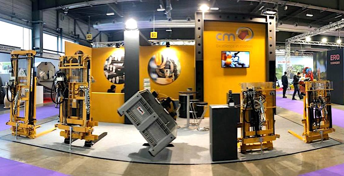CM: nuovo elevatore idraulico triplex 10TBCL, per l'agricoltura specializzata
