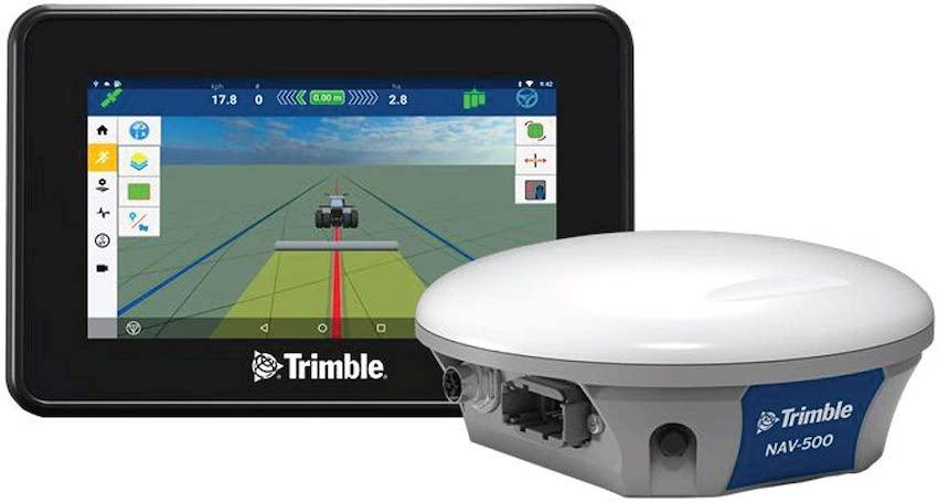 Trimble GFX-350: precision farming a portata di mano e di tasca
