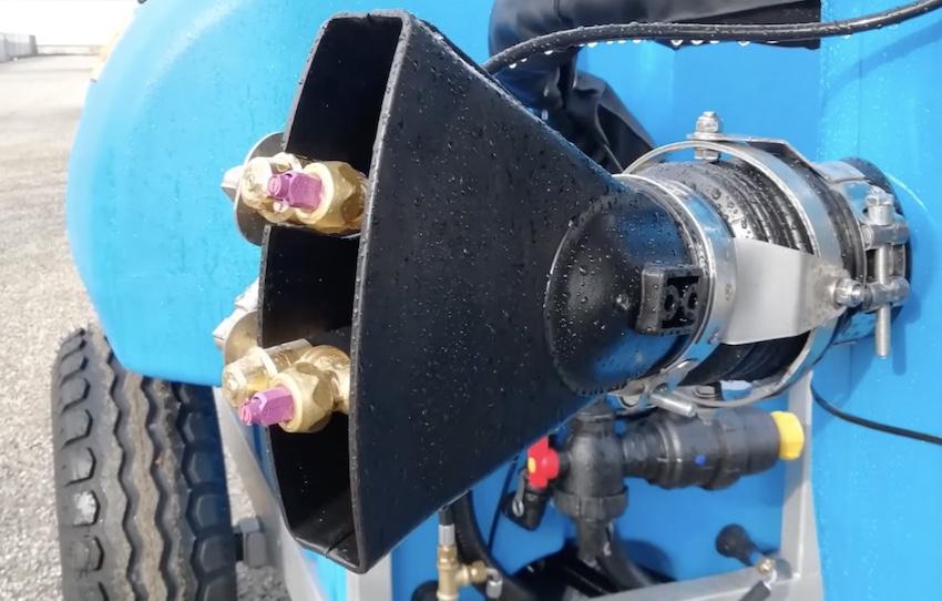 Ricosma: nuovo atomizzatore semiportato Visper, per vigneti a spalliera