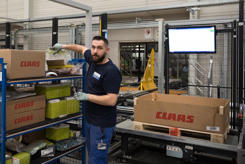 Claas: servizio ricambi e assistenza garantiti senza sosta